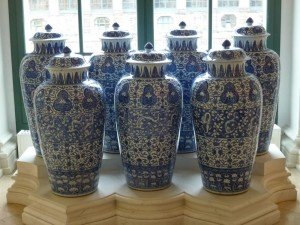 The famous Dragonder Vases